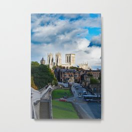 York City Walls and Minster Metal Print
