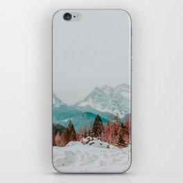 Dolomites, Winter 2017 iPhone Skin