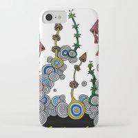 mushroom iPhone & iPod Cases featuring mushroom by SENGA