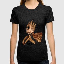 Queen Bill - Black Text T-shirt