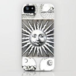Sun vs Moon iPhone Case