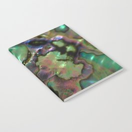Oil Slick Abalone Mother Of Pearl Notebook