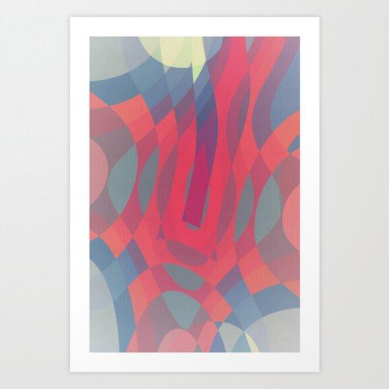 Soft Pressure Art Print