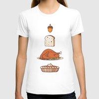 thanksgiving T-shirts featuring thanksgiving by Ceren Aksu Dikenci