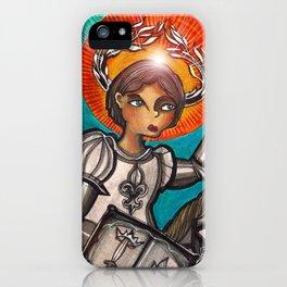 Joan of Arc iPhone Case
