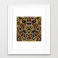 hippy Framed Art Prints featuring Hippy by RingWaveArt