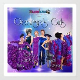 Georgie's Girls Art Print