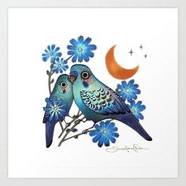 Sweet Chicory Art Print