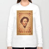 tom waits Long Sleeve T-shirts featuring Waits by Durro