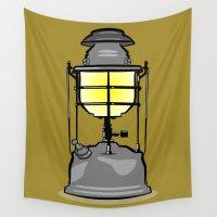 lantern Wall Tapestries featuring Lantern by mailboxdisco