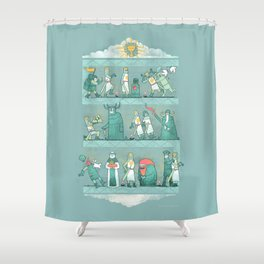 Tapestry of Aaarrrggghhh Shower Curtain
