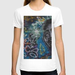 Japanese Icon Graffiti Art T-shirt