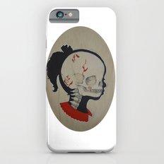 Girl Next Door = Silhouette and Anatomy Love Painting Slim Case iPhone 6s