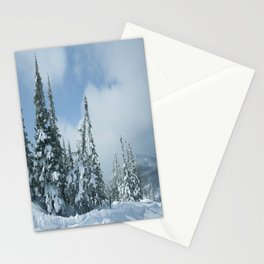 Winter day 15 Stationery Cards