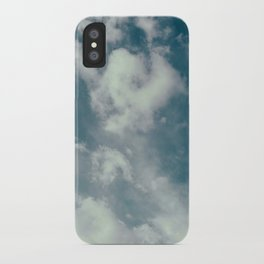 Soft Dreamy Cloudy Sky iPhone Case