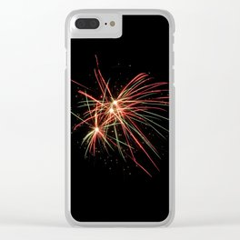 kaboom Clear iPhone Case