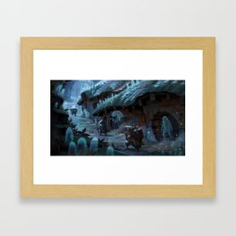 Ethereal Kingdom Framed Art Print