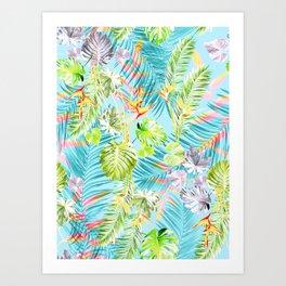 Bermuda Blue Skies Art Print