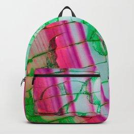 Psychedelic Tie Dye Quartz Backpack