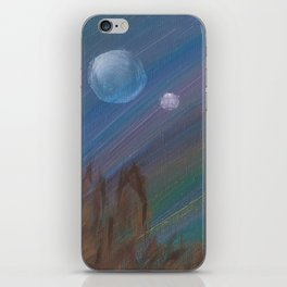 Hunting by the Light of the Traveler iPhone Skin