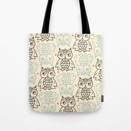 Vintage Owls #1 Tote Bag