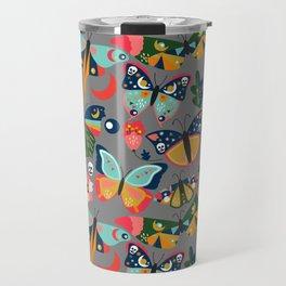 Vintage Butterflies Travel Mug