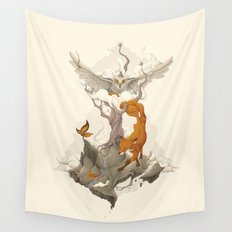 Wild Animals Wall Tapestry