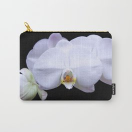 White Orchid2 Carry-All Pouch