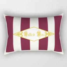 Mulled Wine Antique Rectangular Pillow