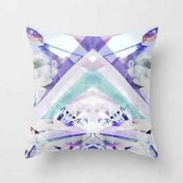 Crystal Light Throw Pillow