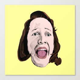 Crazy Annie Wilkes - Misery (Yellow) Canvas Print
