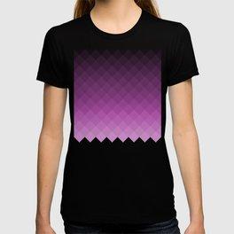 Ombre squares - Purple T-shirt