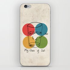 This is my glass of Dali iPhone & iPod Skin