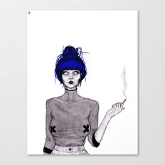 Another Form of Suicide Canvas Print