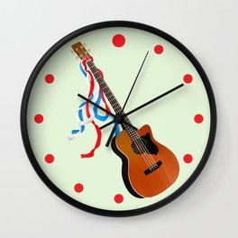 Acoustic Bass Wall Clock