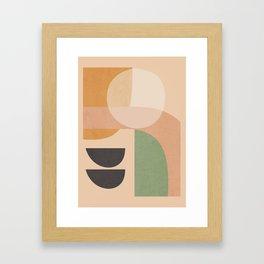 Abstract Art / Shapes 12 Framed Art Print