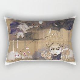 göç (migration) Rectangular Pillow