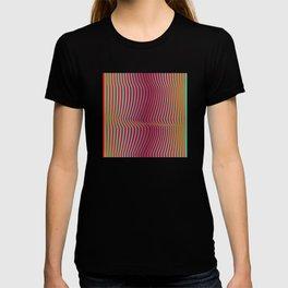 OpArt WaveLines 2 T-shirt