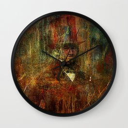 jack the ripper Wall Clock