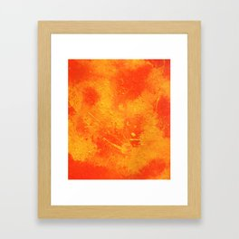Abstract painting print Framed Art Print