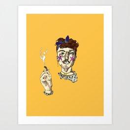 sea stoner Art Print