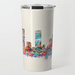 Denver Colorado skyline Travel Mug