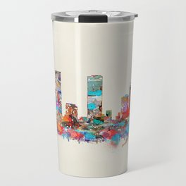 Denver Colorado skyline Travel Mug