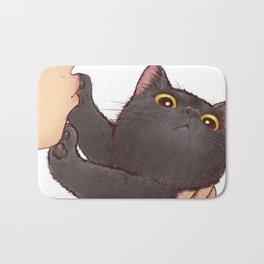 cat : huuh Bath Mat