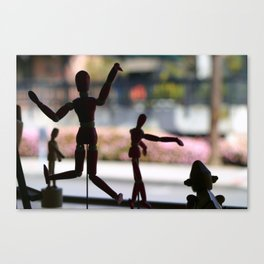 Wooden Puppet Canvas Print