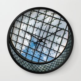 Fulton Station NYC Wall Clock