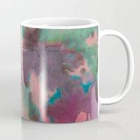 tie dye Mugs featuring Pink Tie-dye by Marcelo Romero