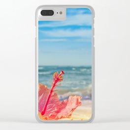 peace love and aloha Clear iPhone Case