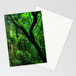 Enchanted forest mood II Stationery Cards