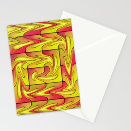 Liquefied abstract Stationery Cards